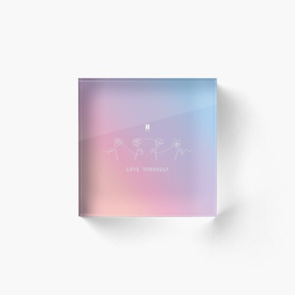 BTS LOVE YOURSELF - PERFECT TAPESTRY Acrylic Block