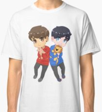 AmazingPhil and Danisnotonfire with Plushes Classic T-Shirt