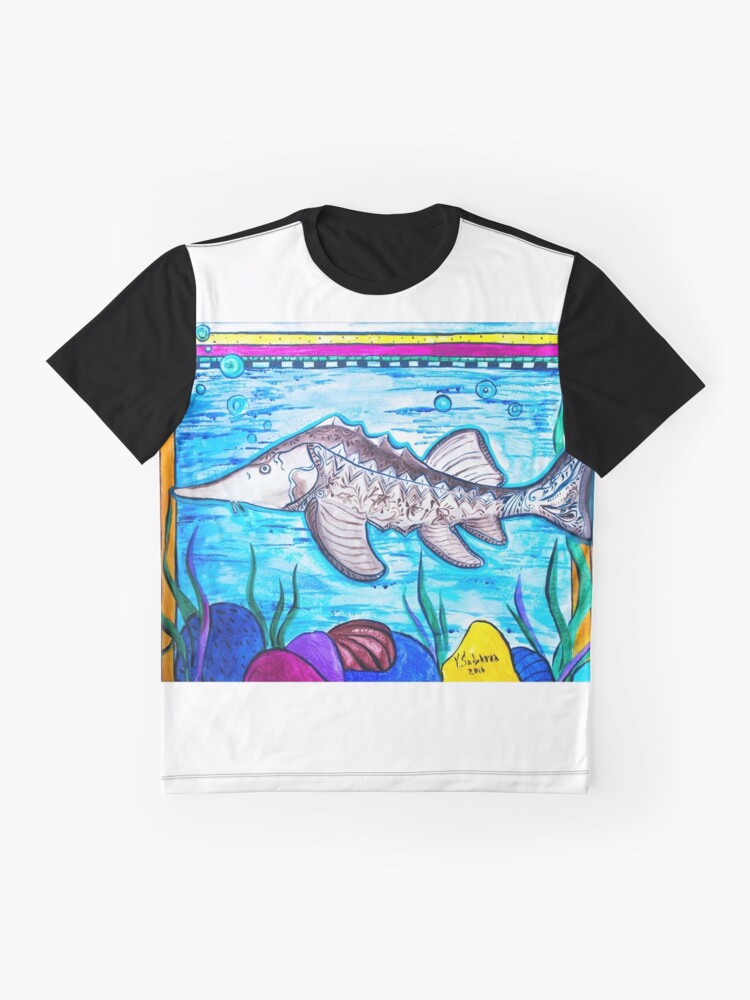 Alternate view of Sturgeon Graphic T-Shirt