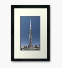 Burj Khalifa  Framed Print