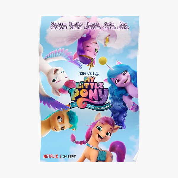 Magical characters of My little pony - a new generation (2021) Poster