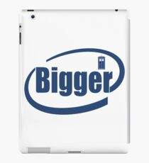 Bigger Inside iPad Case/Skin