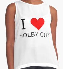 I love Holby City Contrast Tank