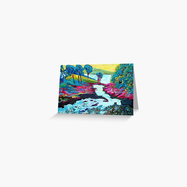 Sheen Falls, Kenmare, Kerry Greeting Card
