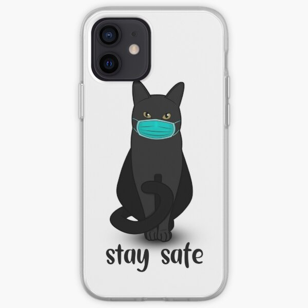 Stay safe, please iPhone Soft Case