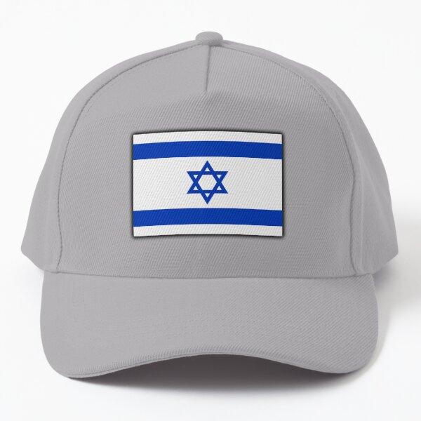 ISRAEL. Israeli. Flag, Flag of Israel, Holy Land, Jerusalem. Baseball Cap