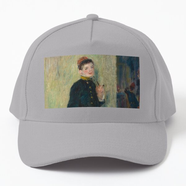 The Young Soldier oil Painting by Auguste Renoir Baseball Cap