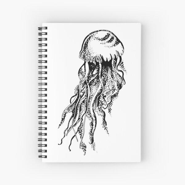 Méduse Cahier à spirale