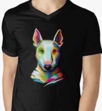 Bull Terrier Digital Painting T-Shirt