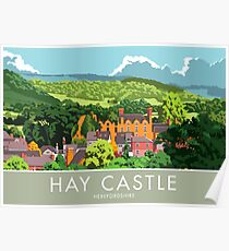 Hay Castle, Herefordshire Poster