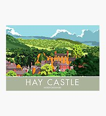 Hay Castle, Herefordshire Photographic Print