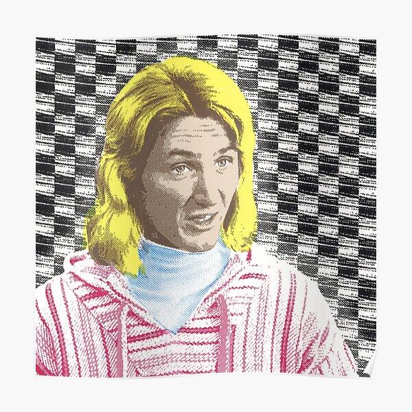 Spicoli Speaks! Surfer Genius Checkerboard Poster