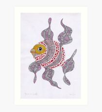 Clown fish  (original sold) Art Print