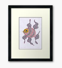 Clown fish  (original sold) Framed Print