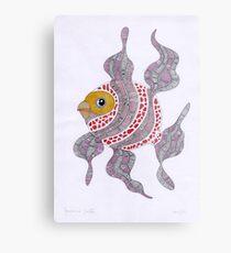 Clown fish  (original sold) Metal Print