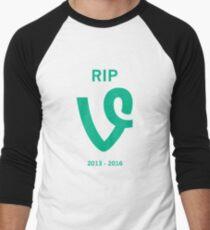 RIP Vine v2 Men's Baseball ¾ T-Shirt