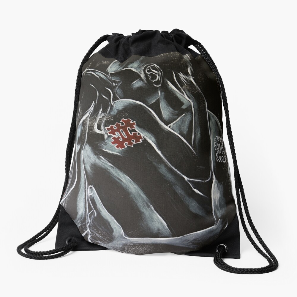 Adieu Drawstring Bag Front