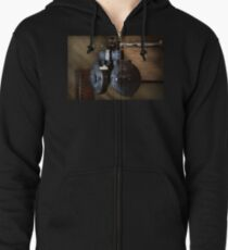 Doctor - Optometry - An old phoropter  Zipped Hoodie