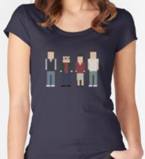 Seinfeld Cast Women's Fitted Scoop T-Shirt