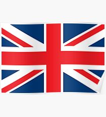 Flag of the Flag of the Great Britain Poster