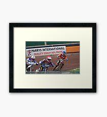 Super Speedway Framed Print