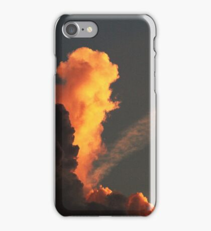 Rolling Clouds and a Little Bit of Sunshine iPhone Case/Skin