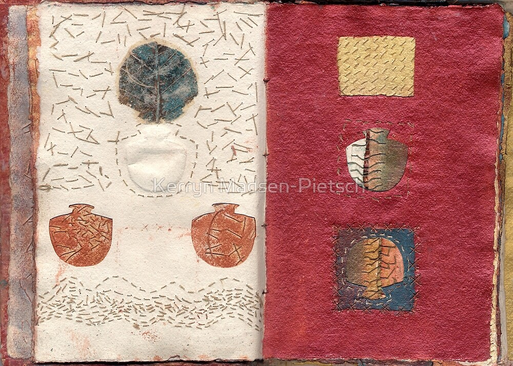 Book of Threads: Pages 5b/6a  by Kerryn Madsen-Pietsch