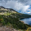 Emerald Bay (with clouds) by James Watkins