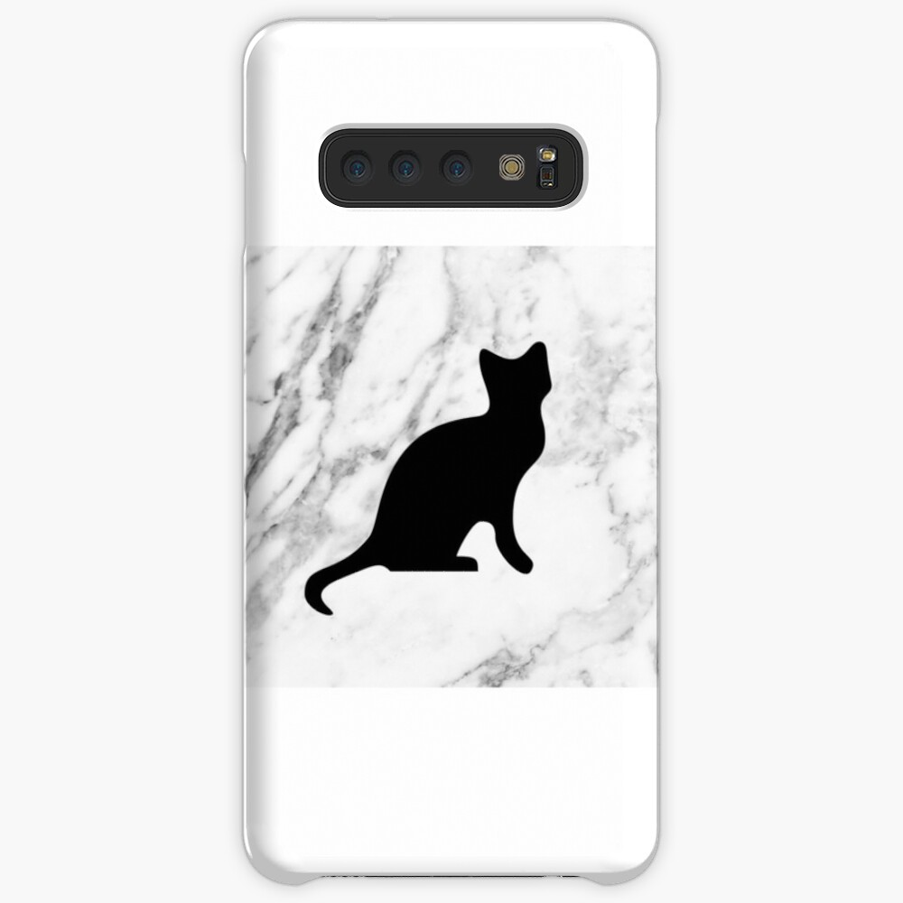 Cat on marble Case & Skin for Samsung Galaxy