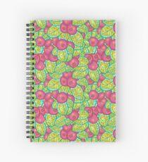 Cranberry pattern Spiral Notebook
