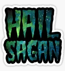 Hail  Sagan Carl Sagan Galaxy  Sticker
