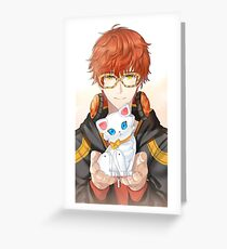 707 - Luciel Choi - Saeyoung - Mystic Messenger  Greeting Card