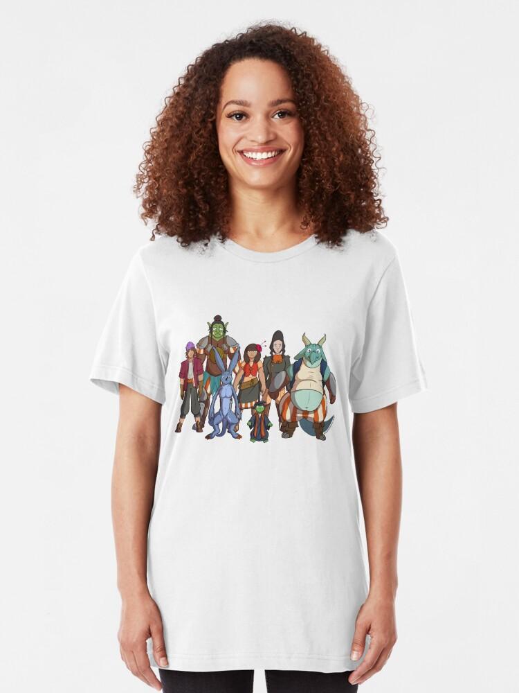 Alternate view of Fantastic Express - Crew Slim Fit T-Shirt