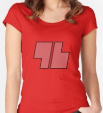 Red 96 - Pokemon Sun and Moon Women's Fitted Scoop T-Shirt