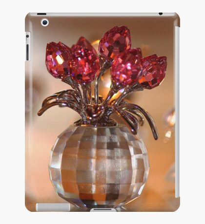 Crystal Flowers iPad Case/Skin