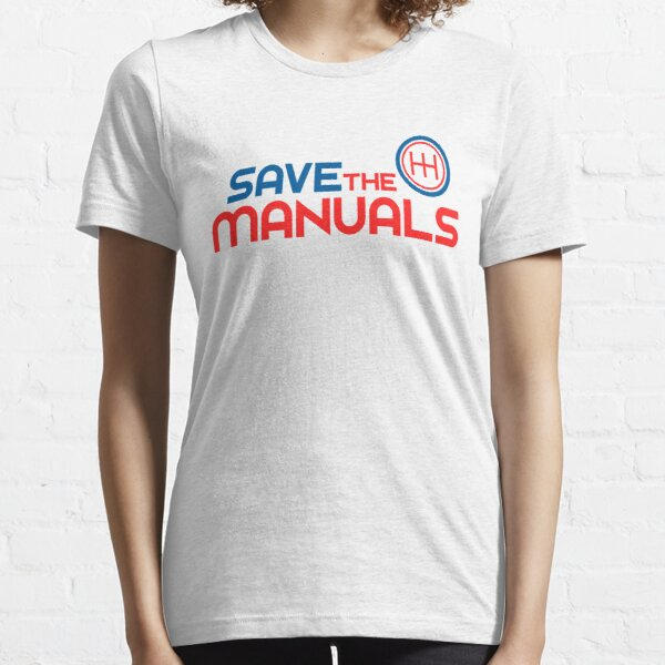 Save The Manuals (1) Essential T-Shirt
