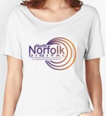 North Norfolk Digital Women's Relaxed Fit T-Shirt