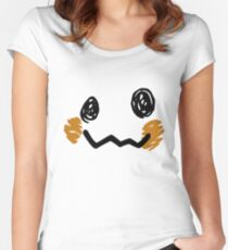 Mimikyu Face - Pokemon Women's Fitted Scoop T-Shirt