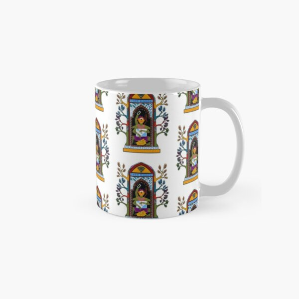 New Window Digital Nomad Work from Home Travel India Classic Mug