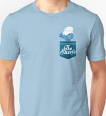 The Smurfs pocket design Unisex T-Shirt