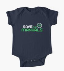 Save The Manuals (2) Kids Clothes