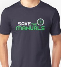 Save The Manuals (2) Unisex T-Shirt