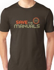 Save The Manuals (4) Unisex T-Shirt