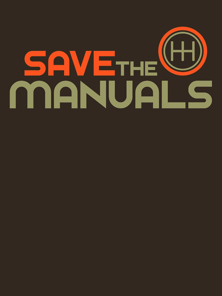 Save The Manuals (4) | Unisex T-Shirt