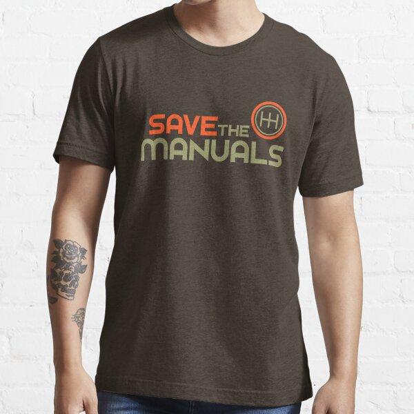 Guarde los Manuales (4) Camiseta esencial