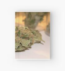 Fire Cookies kush 420 dank cannabis buds. 710 weed Hardcover Journal