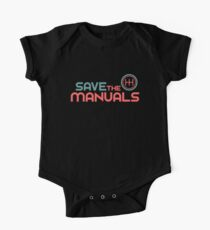 Save The Manuals (6) One Piece - Short Sleeve
