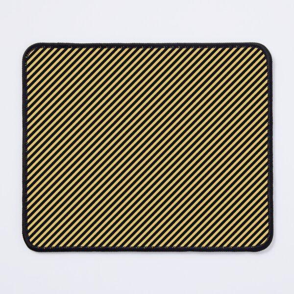 Golden Stripes Mouse Pad
