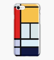Piet Mondrian Minimalist Art iPhone Case/Skin