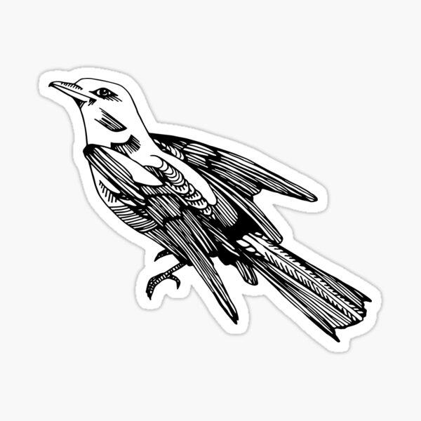 Oiseau Sticker
